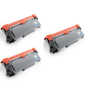 3 Pack Brother TN660 TN-660 Black Laser Toner Cartridge