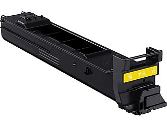 Konica Minolta A0DK232 Yellow High Yield Laser Toner Cartridge MagiColor 4650, 4690, 4695
