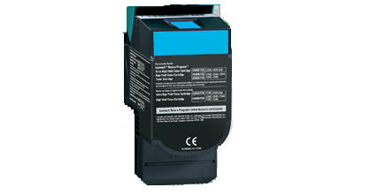 Lexmark C540H2CG Cyan High Yield Toner Cartridge C54x, X54x