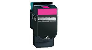 Lexmark C540H2MG Magenta High Yield Toner Cartridge C54x, X54x