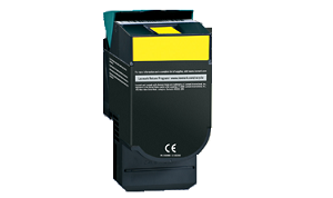 Lexmark C540H2YG Yellow High Yield Toner Cartridge C54x, X54x