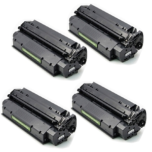 4 Pack HP 15A C7115A Black Laser Toner Cartridge LaserJet 1000 1200 3300