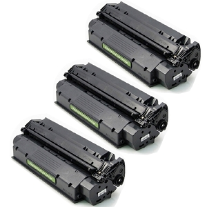3 Pack HP 15A C7115A Black Laser Toner Cartridge LaserJet 1000 1200 3300