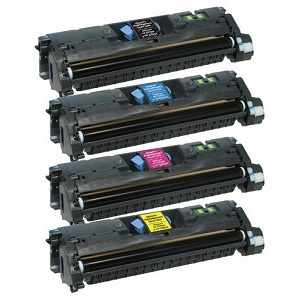 4 Pack HP 121A Color LaserJet 1550, 1500L, 2500, 2500L, 2500TN Laser Toner Cartridges