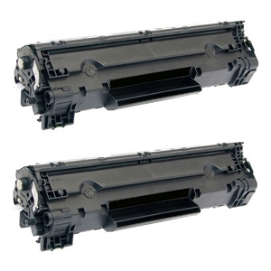 2 Pack Canon 128 3500B001AA CRG-128 Black Laser Toner Cartridge