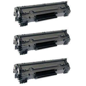 3 Pack Canon 128 3500B001AA CRG-128 Black Laser Toner Cartridge