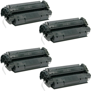 4 Pack Canon X25 X-25 8489A001AA Black Laser Toner Cartridge