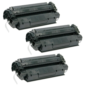 3 Pack Canon X25 X-25 8489A001AA Black Laser Toner Cartridge