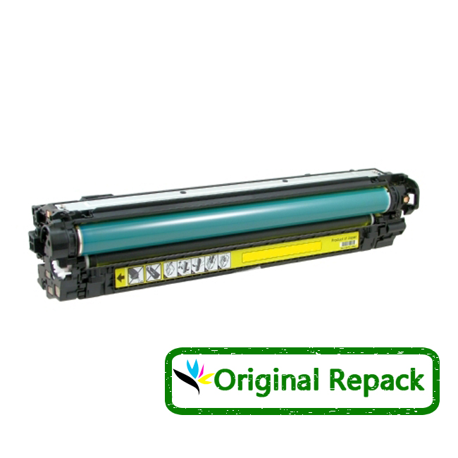 HP 650A CE272A Yellow Laser Toner Cartridge LaserJet CP5525, M750