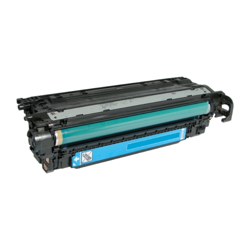 HP 507A CE401A Cyan Compatible Toner Cartridge LaserJet Enterprise 500 Color M551, MFP M575, M570dn