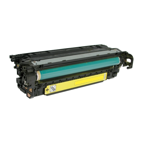 HP 507A CE402A Yellow Compatible Toner Cartridge LaserJet Enterprise 500 Color M551, MFP M575, M570dn