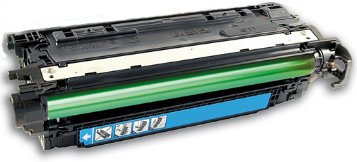 HP 653A CF321A Cyan Compatible Toner Cartridge Color LaserJet Enterprise MFP M680z, M680dn, M680f