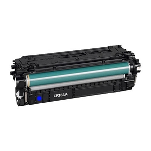 HP 508A CF361A Cyan Laser Toner Cartridge Color LaserJet Enterprise MFP M577, M533, M552, M553