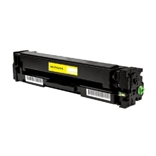 HP 201X (CF402X) Yellow High Yield Toner Cartridge High yield for CF402A 201A