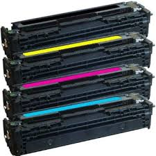 4 pack HP 131A CF210A CF211A CF212A CF213A Combo set of 4 colors Toner Cartridge