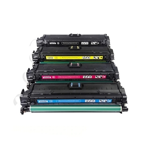 4 Pack HP 307A Color LaserJet Professional CP5225, CP5225dn, CP5225n Laser Toner Cartridges