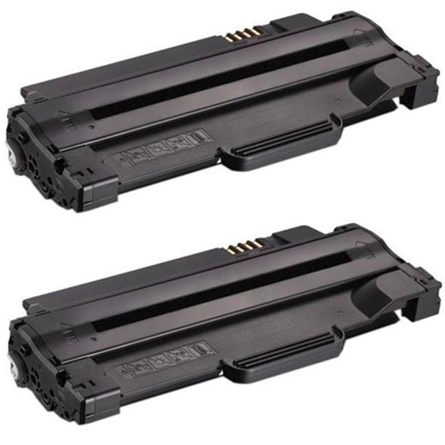 1 Pack Compatible Black Toner Cartridge for Dell 1130 1133 1130N 1135n
