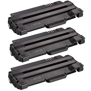 3 Pack Dell 1130 330-9523 7H53W Black Laser Toner Cartridge 1130N, 1133, 1135N