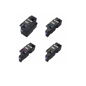 4 Pack Dell 593-BBJU 593-BBJV 593-BBJW 593-BBJX High Yield Laser Toner Cartridges E525w