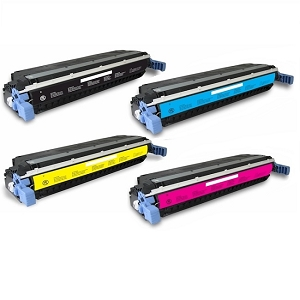 4 Pack HP 308A Black and 309A C/M/Y LaserJet 3500, 3500N, 3550, 3550N Toner Cartridges
