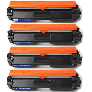 4 Pack HP 30X CF230X Black High Yield Laser Toner Cartridge LaserJet M203 Pro M203 MFP M227