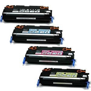 4 Pack HP 641A Color LaserJet 4600, 4650 Laser Toner Cartridges