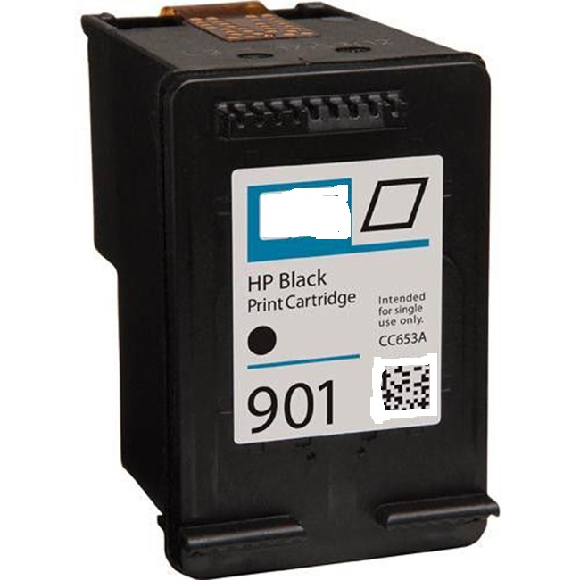 HP 901 CC653AN Black Inkjet Cartridge OfficeJet 4500, G510, J4524, J4525,  J4540, J4680