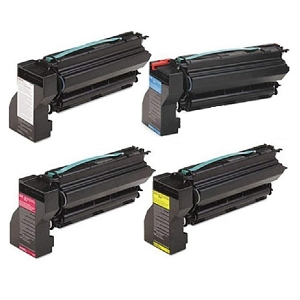 4 Pack Lexmark  IBM  InfoPrint Color 1754, 1764, 1764MFP Laser Toner Cartridges