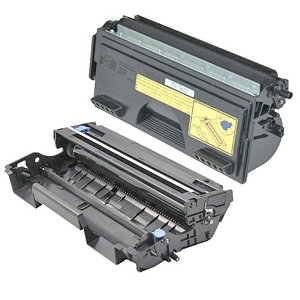 2 Pack Brother TN560 DR500 Laser Toner Cartridge and Drum Unit
