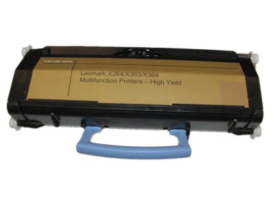 Lexmark X264H21G X264H11G Black Compatible High Yield Toner Cartridge X264, X363, X364