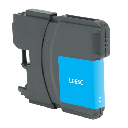 Brother LC65 LC65C LC-65C Cyan Inkjet Cartridge MFC-5890CN, MFC-5895CW, MFC-6490CW, MFC-6890