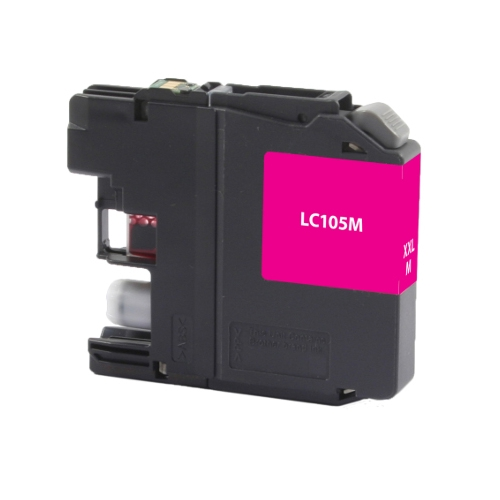 Brother LC105M LC-105M Magenta High Yield Inkjet Cartridge