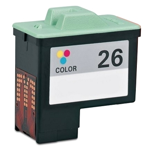 Lexmark 26 10N0026 Tri-Color Remanufactured Inkjet Cartridge