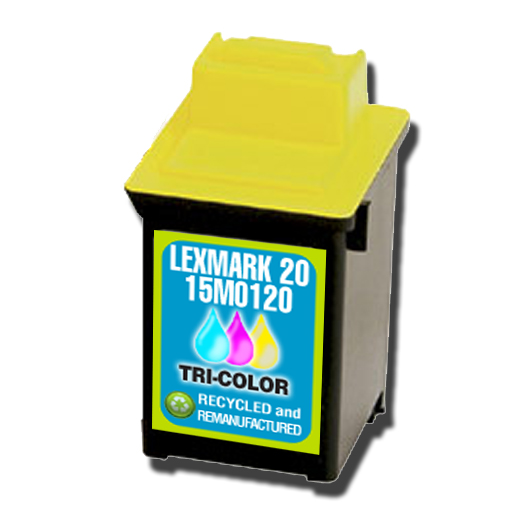 Lexmark 20 15M0120 Tri-Color Inkjet Cartridge
