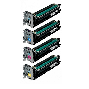 4 Pack Konica Minolta A0310 MagiColor 4650, 4690, 4695, 5650, 5670 Laser Drum Units