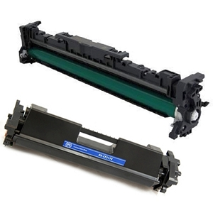 2 Pack HP 17A CF217A HP 19A CF219A LaserJet Pro M102, M130, M130NW Extra High Yield Toner Cartridge and Drum Unit