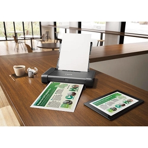 Canon PIXMA iP110 Wireless Compact Color Mobile Printer