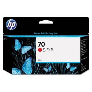 Brand New Original HP 70 C9456A Red Ink Cartridge DesignJet Z3100, Z3100ps GP