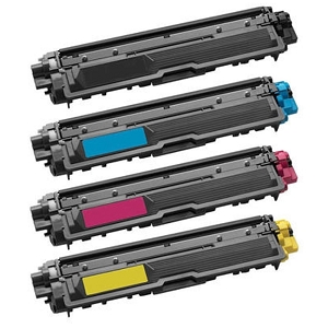 4 Pack Brother TN221 TN-225 TN225 TN-221 TN225 High Yield Laser Toner Cartridges