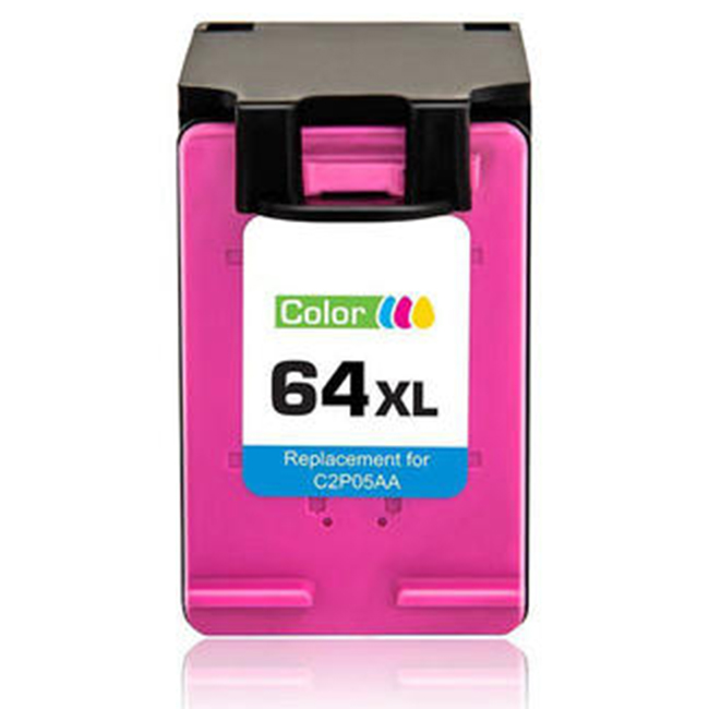 HP 64XL N9J91AN Tri-Color High Yield Ink Cartridge