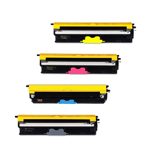 4 Pack Okidata C110 C130N  MC160c4  44250713 / 44250714 / 44250715 / 44230716  Toner Cartridges