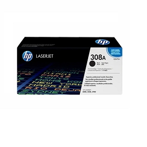 Brand New Original HP 308A Q2670A Black Toner Cartridge Color LaserJet 3500, 3500N, 3550, 3550N, 3700
