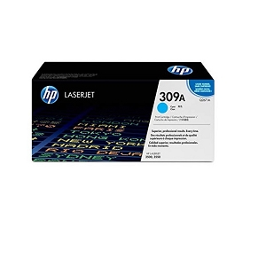 Brand New Original HP 309A Q2671A Cyan Toner Cartridge Color LaserJet 3500, 3500N, 3550, 3550N
