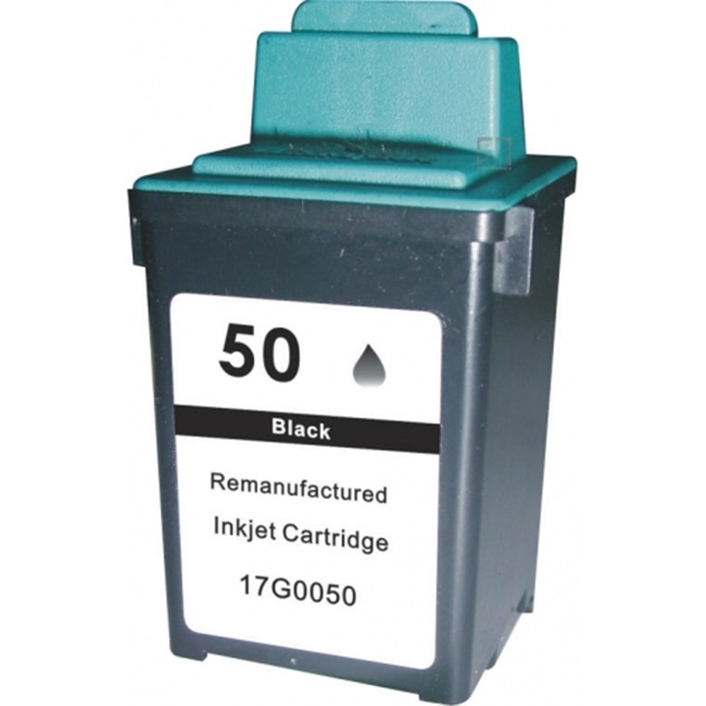 Lexmark 50 17G0050 Black Inkjet Cartridge Lexmark