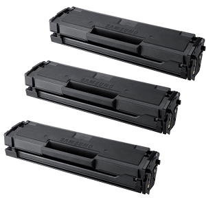 3 Pack Samsung MLT-D101S Black Laser Toner Cartridge ML-2160, ML-2165, SCX-3400, SCX-3405, SF-760