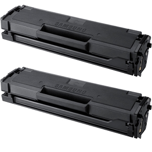 2 Pack Samsung MLT-D101S Black Laser Toner Cartridge ML-2160, ML-2165, SCX-3400, SCX-3405, SF-760