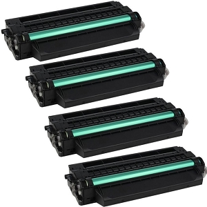 4 Pack Samsung MLT-D115L MLTD115L Black Laser Toner Cartridge