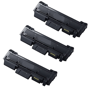 3 Pack Samsung MLT-D116L MLT D116L Black High Yield Laser Toner Cartridge