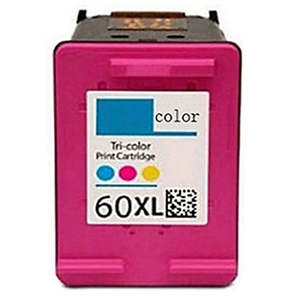 HP 60XL CC644WN Tri-Color High Yield Inkjet Cartridge