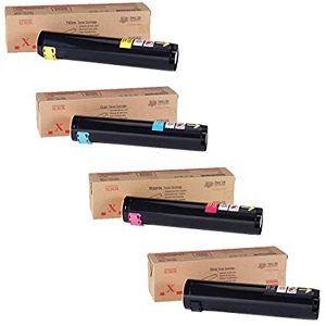 4 Pack Brand New Original 106R00652  106R00653 106R00654 106R00655 High Capacity Toner Cartridge Phaser 7750s